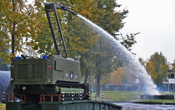 System do gaszenia pożarów Uran-14 - Sputnik Polska