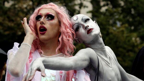 Parada gejów w Czechach - Sputnik Polska