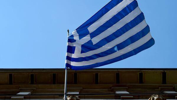 Flaga Grecji - Sputnik Polska