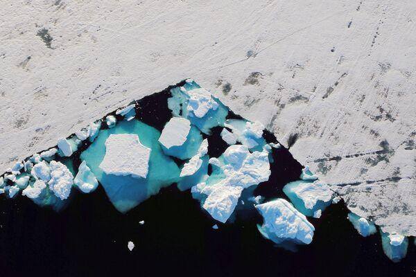 Góry lodowe blisko miasta Tasiilaq - Sputnik Polska
