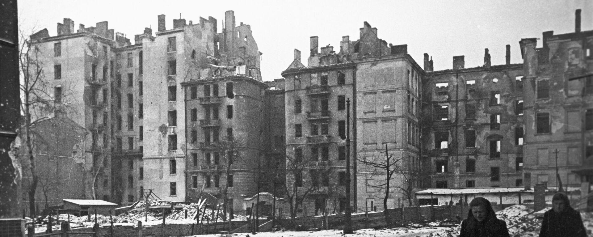 Zniszczona Warszawa - Sputnik Polska, 1920, 30.06.2021