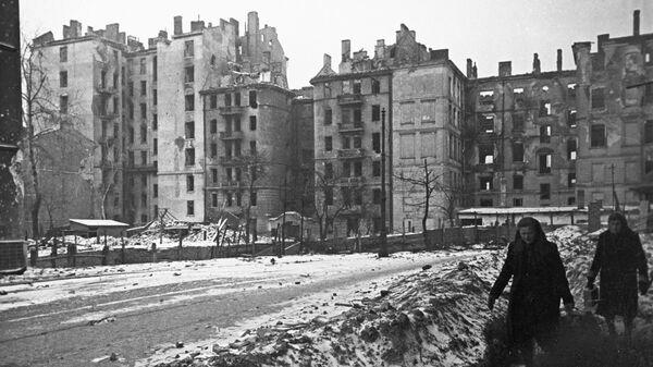 Zniszczona Warszawa - Sputnik Polska