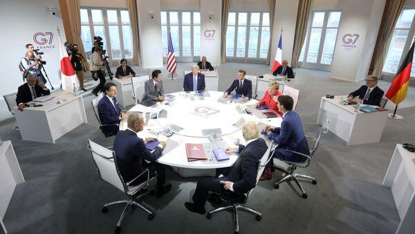 Szczyt G7 w Biarritz - Sputnik Polska