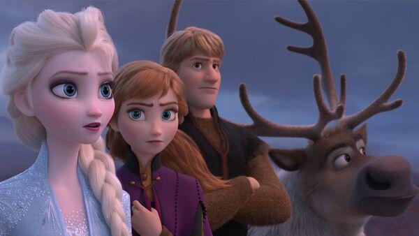 """Kadr z filmu animowanego """"Frozen 2"""" - Sputnik Polska"""