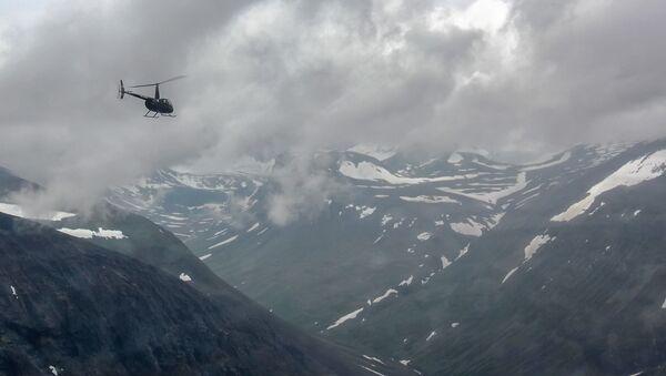 Helikopter nad Norwegią - Sputnik Polska