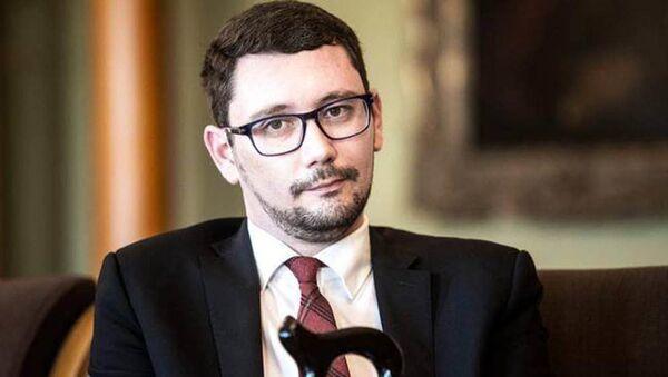 Jiří Ovčáček, rzecznik prezydenta Czech Miloša Zemana - Sputnik Polska