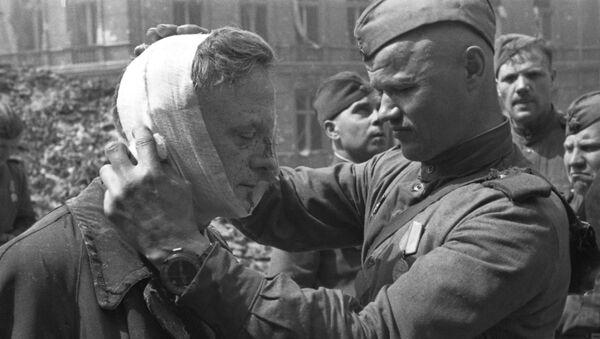 Żołnierz Armii Czerwonej - Sputnik Polska