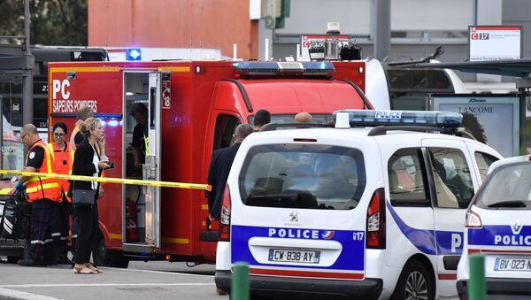 Atak nożownika w Lyonie, 31 sierpnia 2019 rok - Sputnik Polska