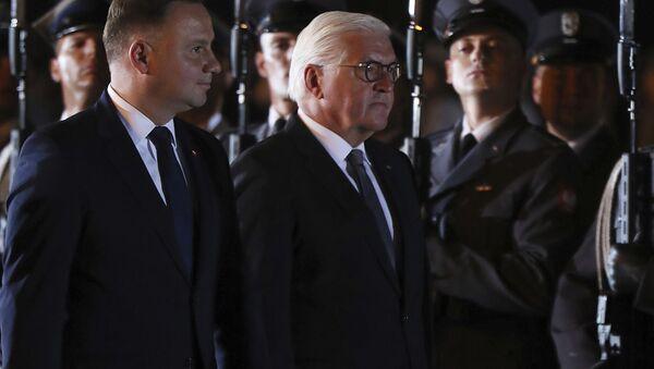 Uroczyste obchody 80. rocznicy wybuchu II wojny śiwatowej w Wieluniu - Sputnik Polska