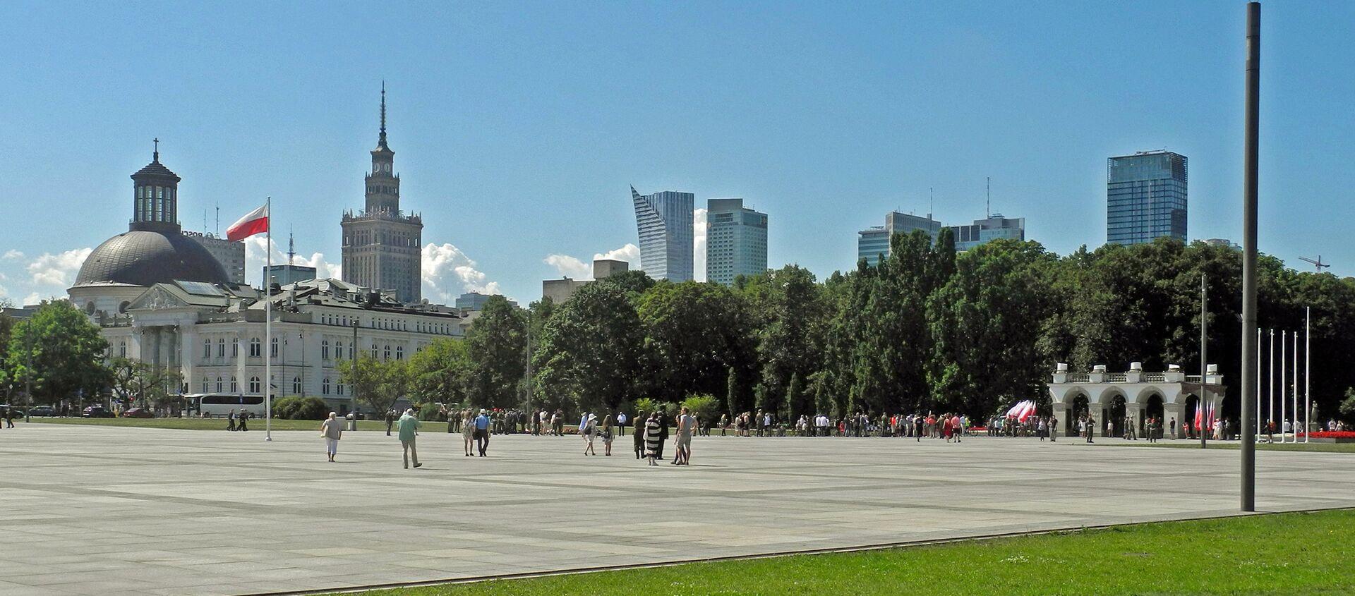 Plac Piłsudskiego w Warszawie - Sputnik Polska, 1920, 16.03.2021