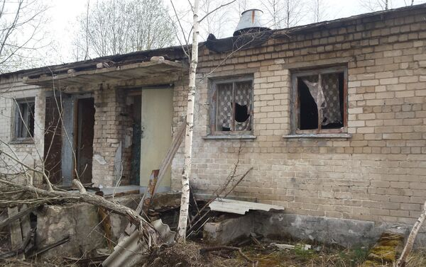 Porzucone łotewskie miasteczko wojskowe w Skrundzie - Sputnik Polska