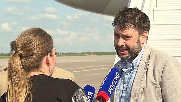 """Wyszynski: """"Nie czułem się samotny"""". Pierwszy wywiad po powrocie z Ukrainy - Sputnik Polska"""