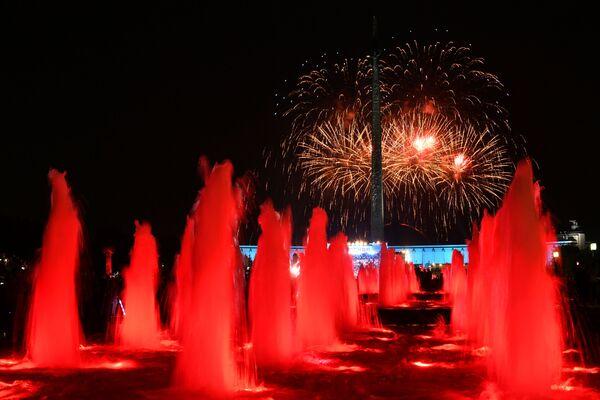 Obchody Dnia miasta Moskwy - Sputnik Polska