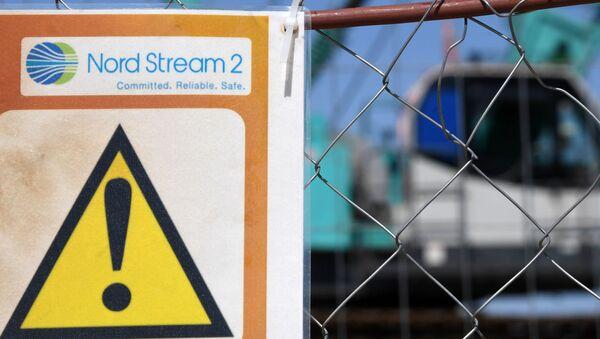 Plac budowy gazociągu Nord Stream 2 w obwodzie leningradzkim - Sputnik Polska