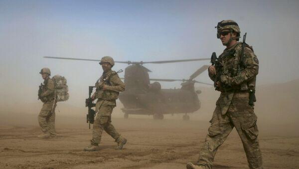 Żołnierze USA w Shindand w Afganistanie - Sputnik Polska