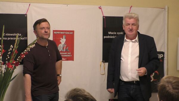Mateusz Piskorski i Piotr Ikonowicz - Sputnik Polska