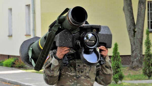 Amerykański przenośny system przeciwpancerny Javelin - Sputnik Polska
