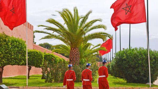Gwardia króla w Marrakeszu - Sputnik Polska
