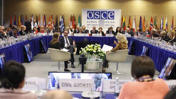 Konferencja przeglądowa OBWE na temat praw człowieka w Warszawie - Sputnik Polska