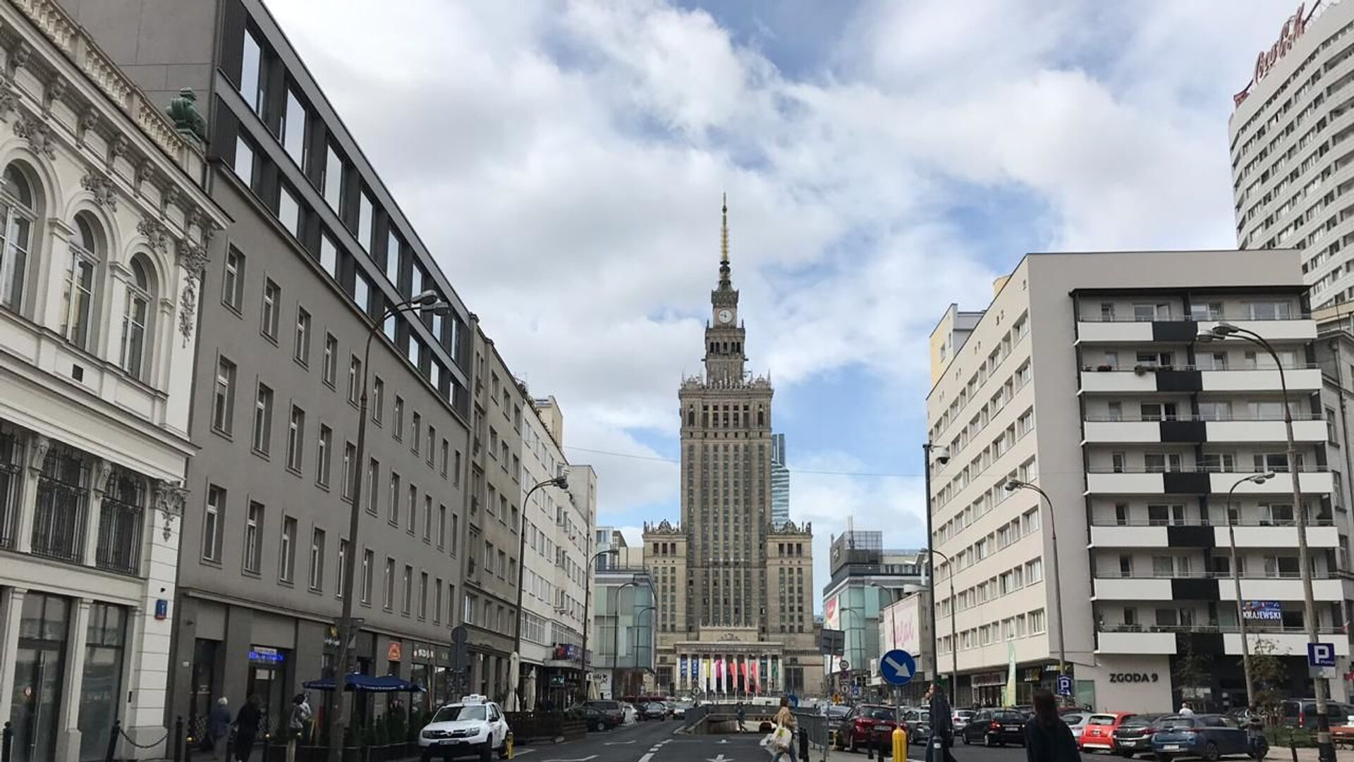 Pałac Kultury i Nauki w Warszawie - Sputnik Polska, 1920, 05.09.2021