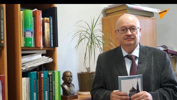 """Jan Engelgard, historyk, redaktor naczelny tygodnika """"Myśl Polska"""" - Sputnik Polska"""