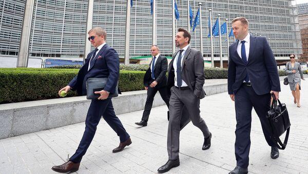 W Brukseli odbyły się trójstronne konsultacje Rosja-Ukraina-KE ws. gazu - Sputnik Polska