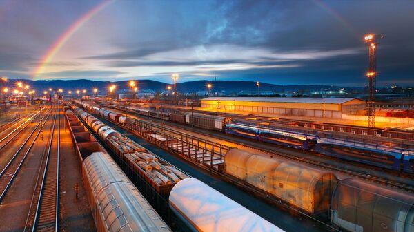 Transport kolejowy - Sputnik Polska