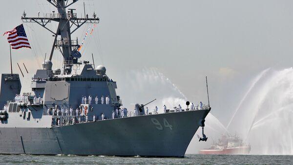 Amerykański niszczyciel USS Nitze - Sputnik Polska