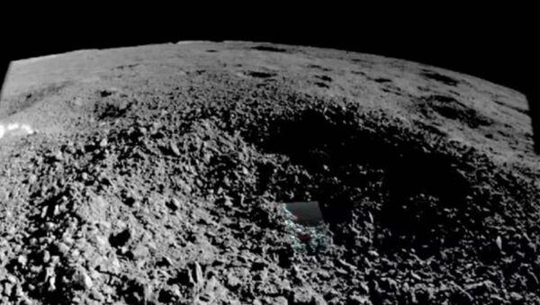 Dziwna substancja w kraterze Księżyca - Sputnik Polska