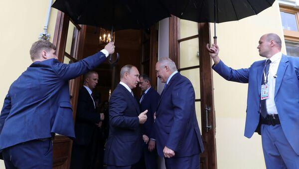 Władimir Putin i Alaksandr Łukaszenka - Sputnik Polska