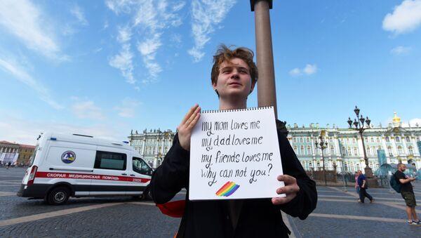 Manifestacja w ramach IX Marszu w Petersburgu - Sputnik Polska