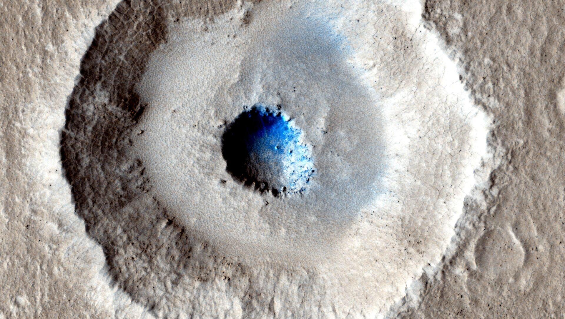Oblodzona powierzchnia Marsa - Sputnik Polska, 1920, 18.03.2021