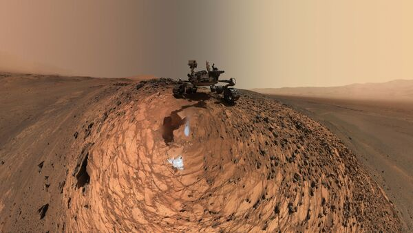 Mars rower NASA Curiosity - Sputnik Polska