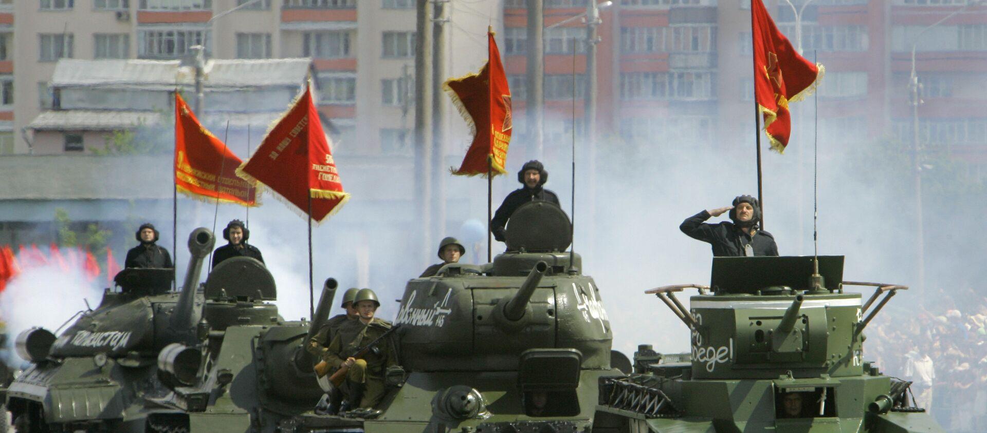 Parada wojskowa na Białorusi - Sputnik Polska, 1920, 27.09.2019