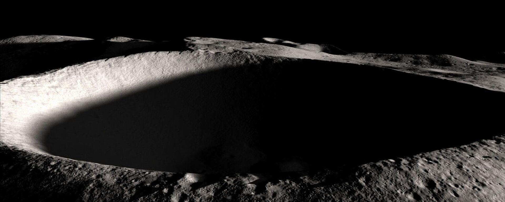 Południowy biegun Księżyca - Sputnik Polska, 1920, 15.09.2021