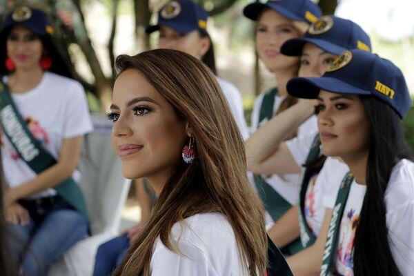 Kandydatka ubiegająca się o tytuł Miss Earth 2019  - Sputnik Polska