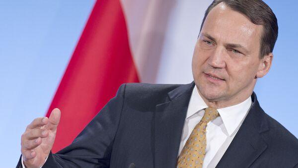 Były minister spraw zagranicznych Polski Radosław Sikorski - Sputnik Polska