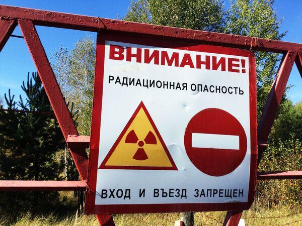 Wejście do Poleskiego Rezerwatu - Sputnik Polska