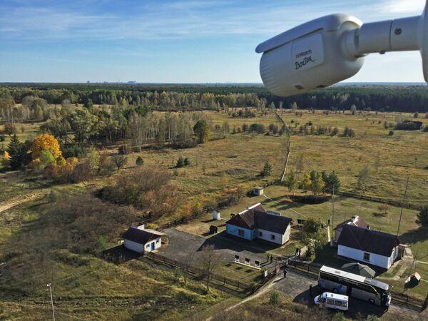 Stacja badawcza Masany na terytorium Poleskiego Rezerwatu - Sputnik Polska