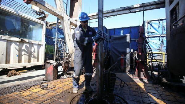 Złoże łupkowe ropy i gazu w Argentynie Vaca Muerta - Sputnik Polska