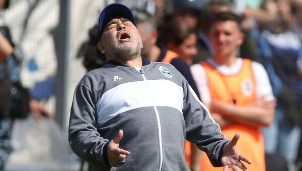 Trener Maradona Agrentyna - Sputnik Polska