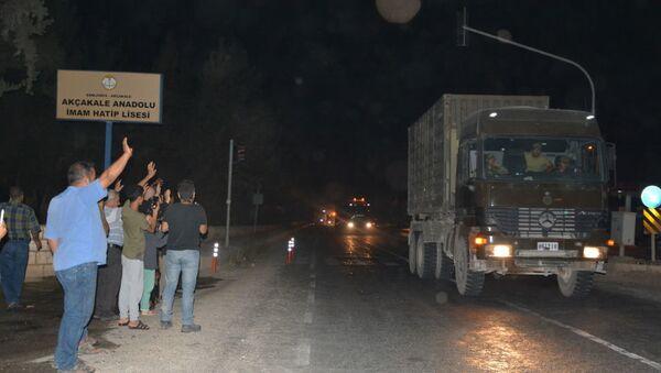 Tureckie oddziały w Syrii - Sputnik Polska