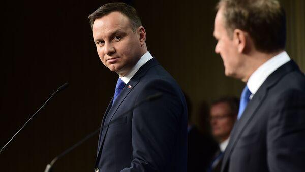 Andrzej Duda i Donald Tusk - Sputnik Polska
