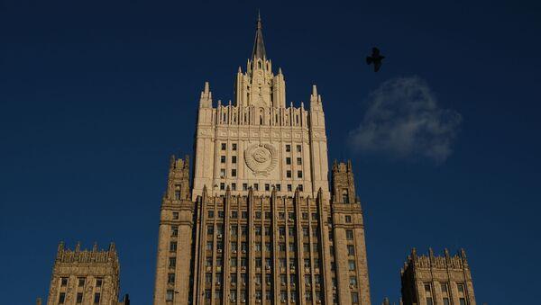 Budynek Ministerstwa Spraw Zagranicznych w Moskwie - Sputnik Polska