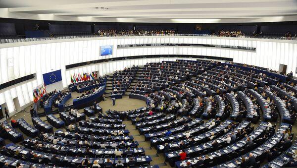 Na pierwszej sesji Parlamentu Europejskiego nowej kadencji - Sputnik Polska