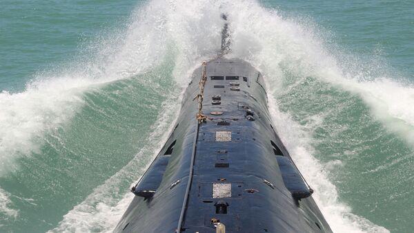 Okręt podwodny Chińskiej Armii Ludowo-Wyzwoleńczej - Sputnik Polska