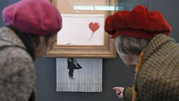 Wystawa Banksy w Niemczech - Sputnik Polska