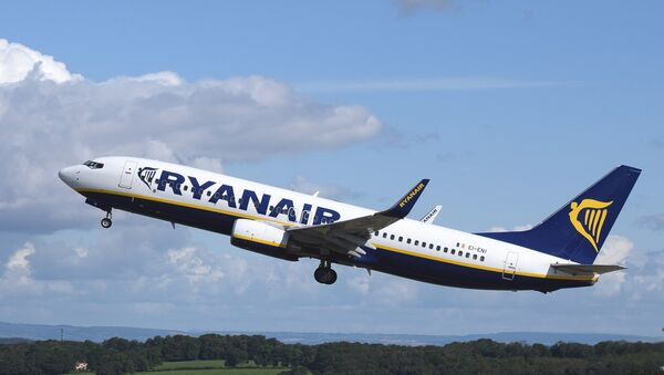 Samolot Ryanair - Sputnik Polska
