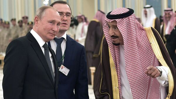 Wizyta prezydenta Rosji Władimira Putina w Arabii Saudyjskiej. - Sputnik Polska