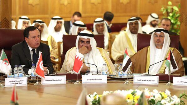 Szefowie MSZ Ligii Pańśtw Arabskich omawiają operację tureckich sił zbrojnych na północy Syrii - Sputnik Polska